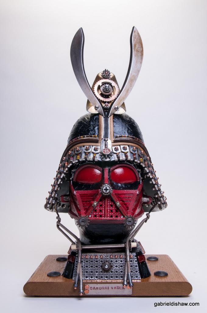 Samurai Vader by Gabriel Dishaw