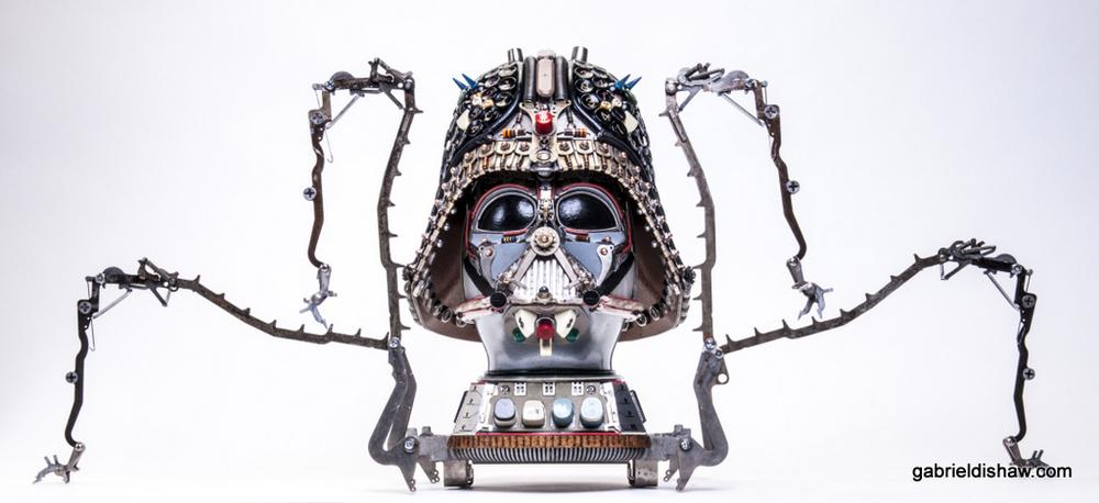 Arachnid Vader by Gabriel Dishaw