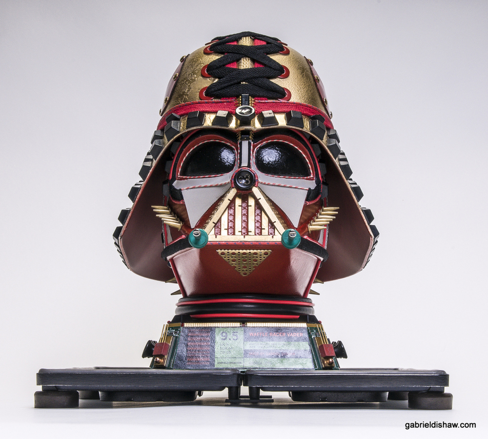Waffle Racer Vader by Gabriel Dishaw