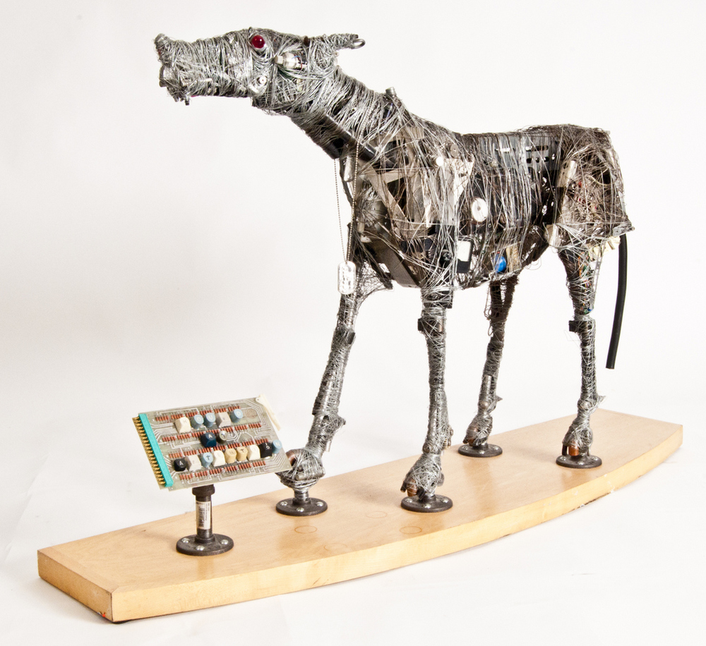 Hound at Attention - Status For Sale