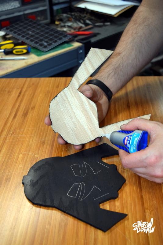 Step 5 - Glue Hood