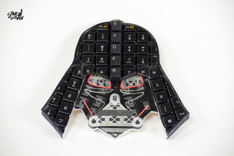 Upcycled Keyboard Vader -1.JPG