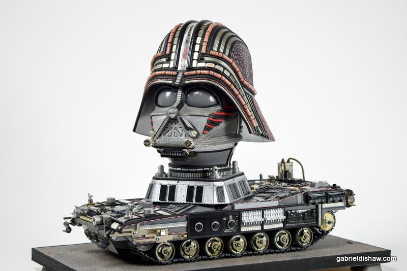 Tank Vader 2 by Gabriel Dishaw