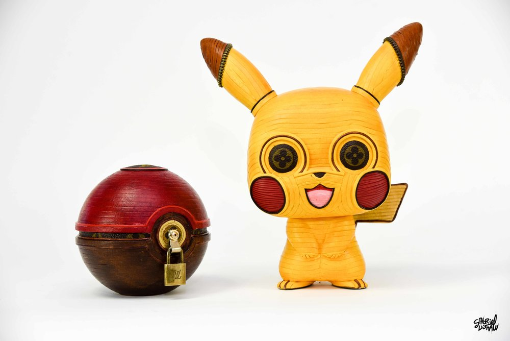Pika Lou + LouisBall -