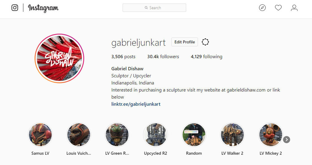 Gabriel Dishaws instagram account screen grab.jpg