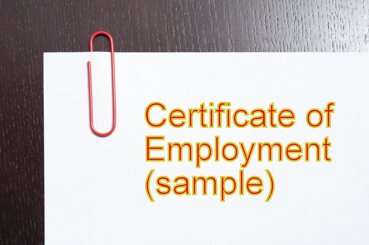 Arrow employment services arrow employment certificate of employment sample yelopaper Images