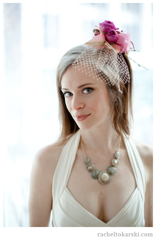Rachel Tokarski Photography Spontaneous Shoot Fascinator