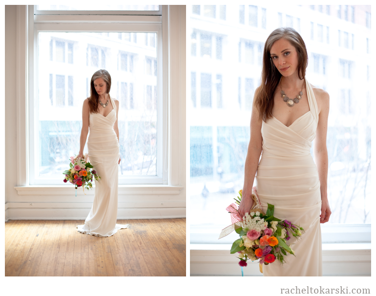 Rachel Tokarski Photography Spontaneous Floral and Wedding Gown Shoot