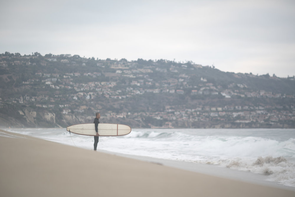 Early Morning Surfer Redondo Beach