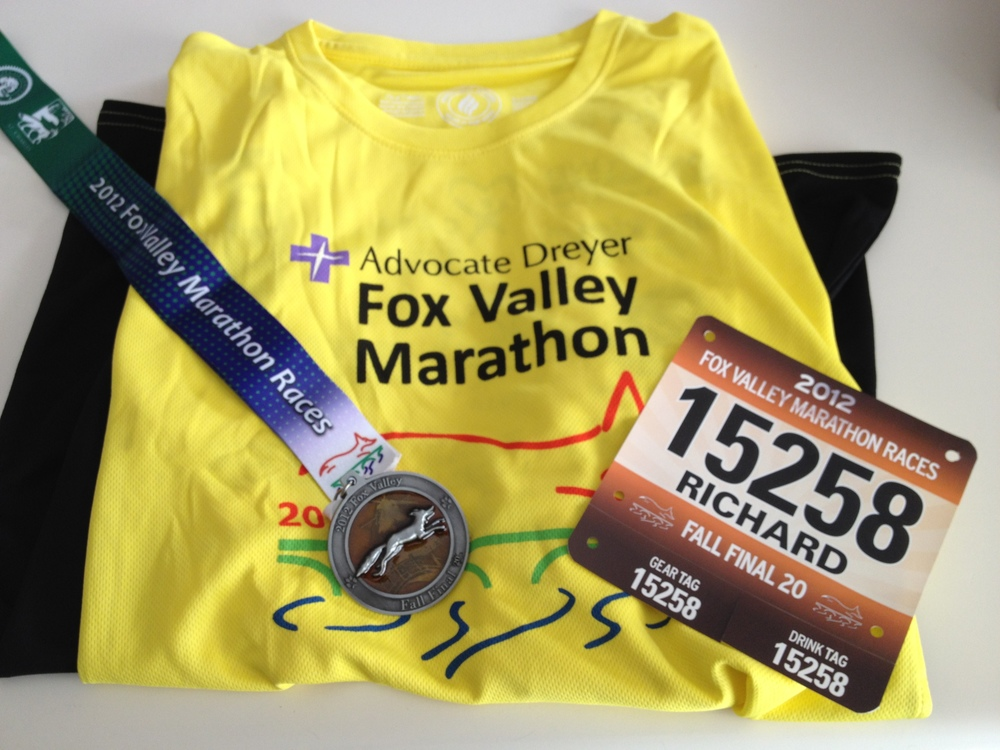 Finishers got a nice long-sleeved tech shirt and the cool medal