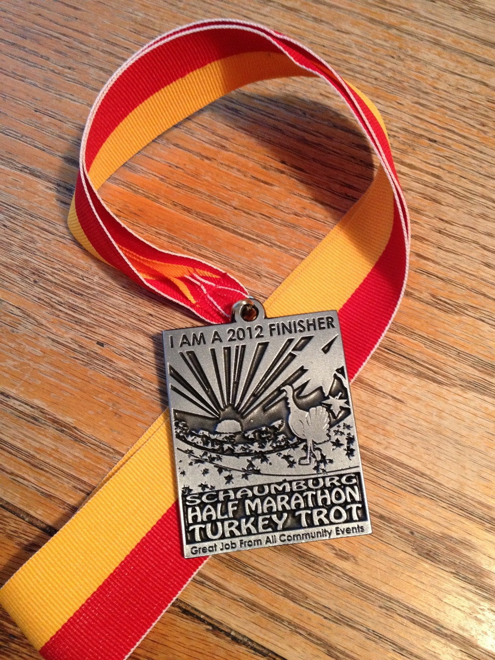 Awesome Finisher's medal