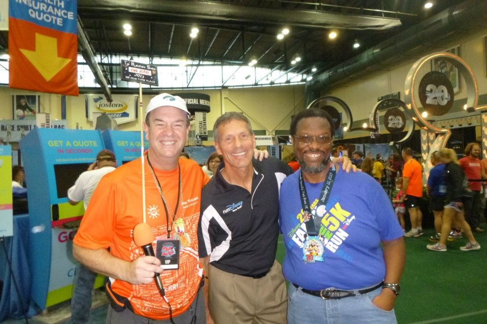 Joe Taricani and Rudy Novotny at the Expo!
