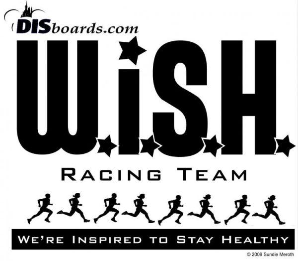 The Logo of the Disney WISH running group