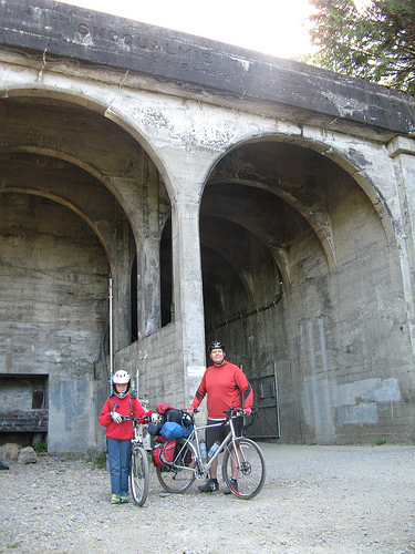 Bike Camping on the JWPT, Snoqualmie Tunnel.