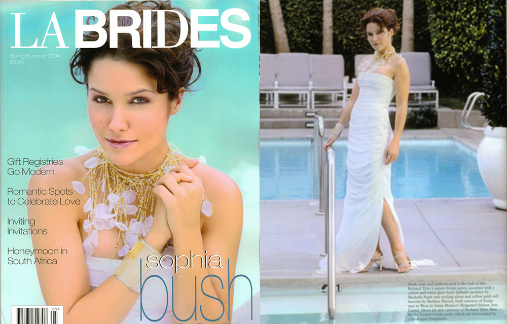 LA Brides Magazine with Sophia Bush
