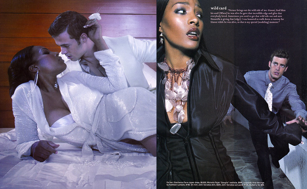 Savoy magazine with Nona Gaye