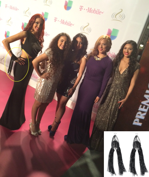 Las Fenix at Premio Lo Nuestro 2014