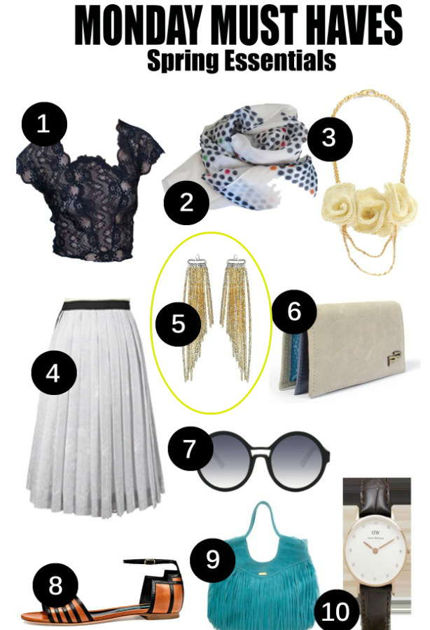 Nolcha Monday Must Haves Spring Essentials