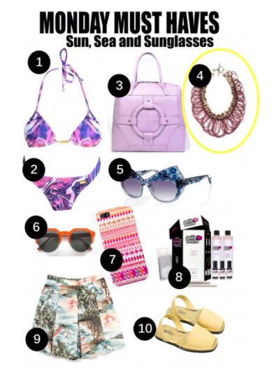 Nolcha Monday Must Haves-Sun, Sea & Sunglasses