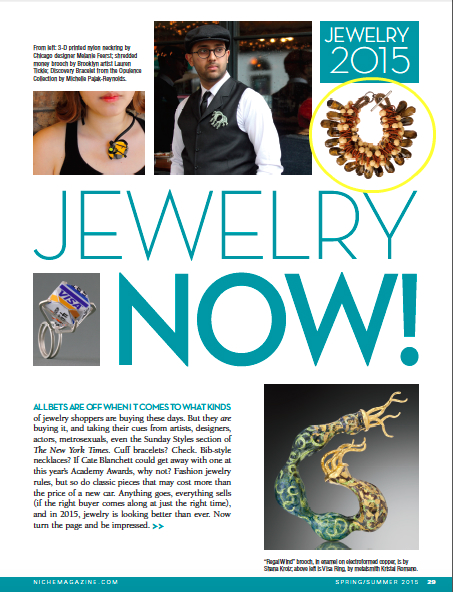 Niche Magazine Spring/Summer 2015: Jewelry Now