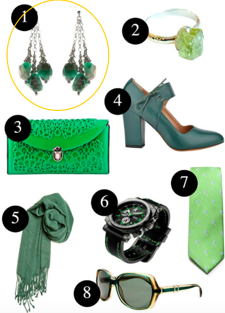 Go Green Style for St Patrick's Day