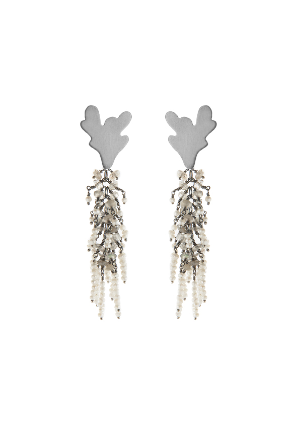 Undina Collection Galena earrings by Michelle Pajak-Reynolds