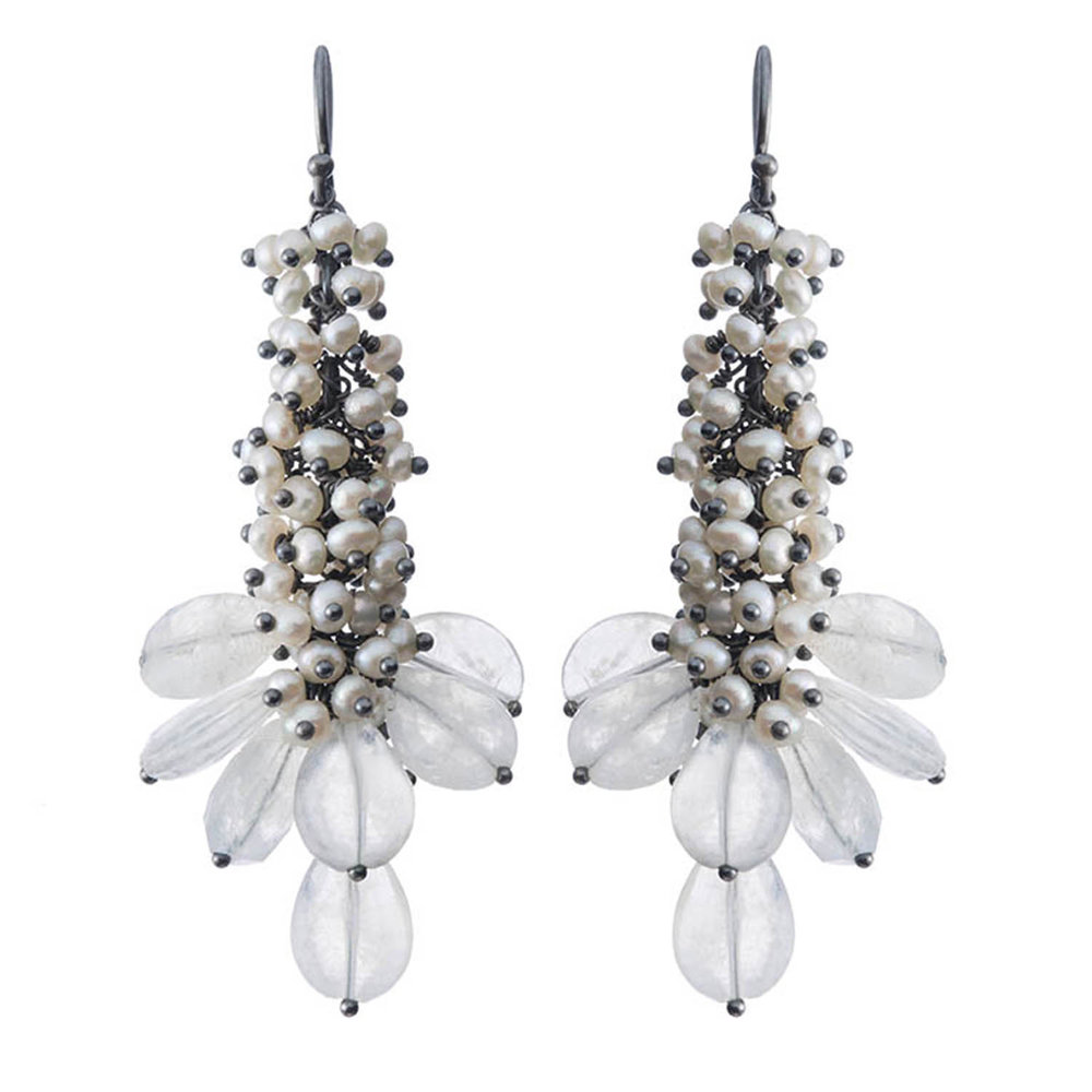 Michelle Pajak-Reynolds Undina Collection Assana Earrings