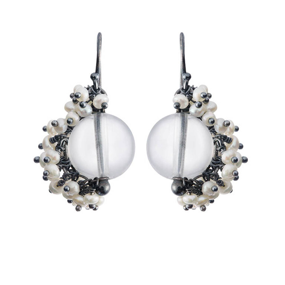 Michelle Pajak-Reynolds Undina Collection Venus earrings