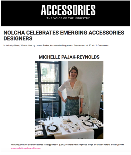 Accessories Magazine: Nolcha Celebrates Emerging Accessories Designers