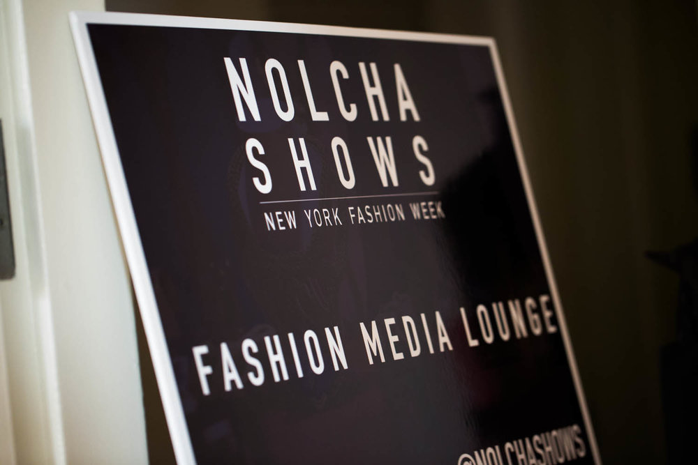 Nolcha NYFW Fashion Media Lounge
