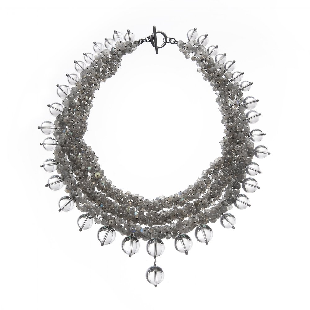 Michelle Pajak-Reynolds Undina Collection Luna necklace