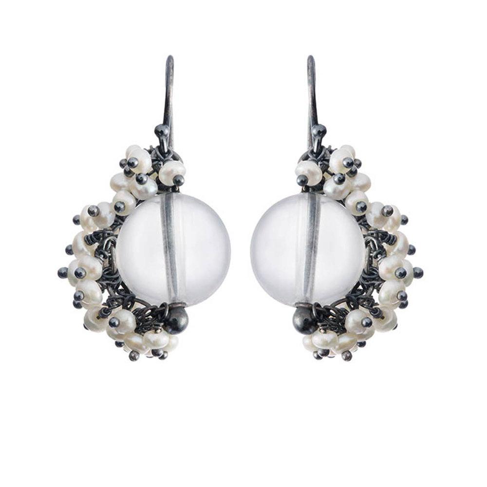 Venus small drop earrings