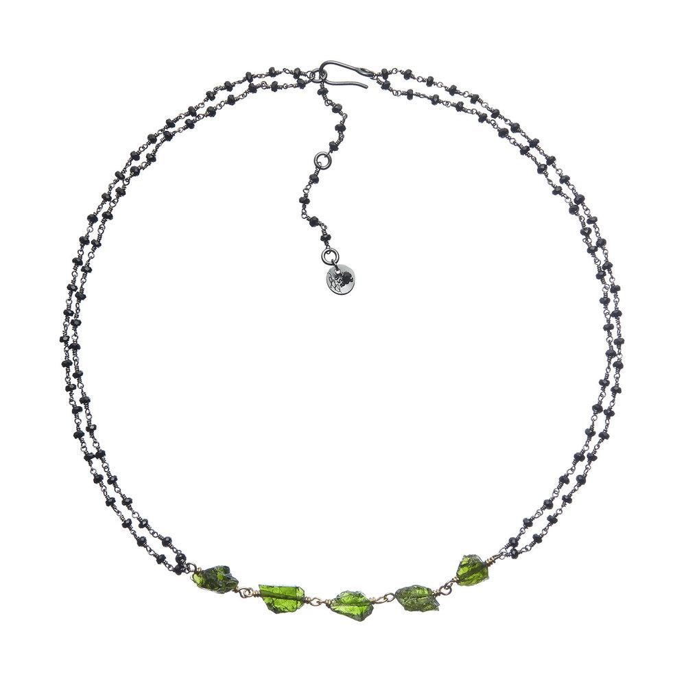 Voyageuse Collection: Leskea necklace