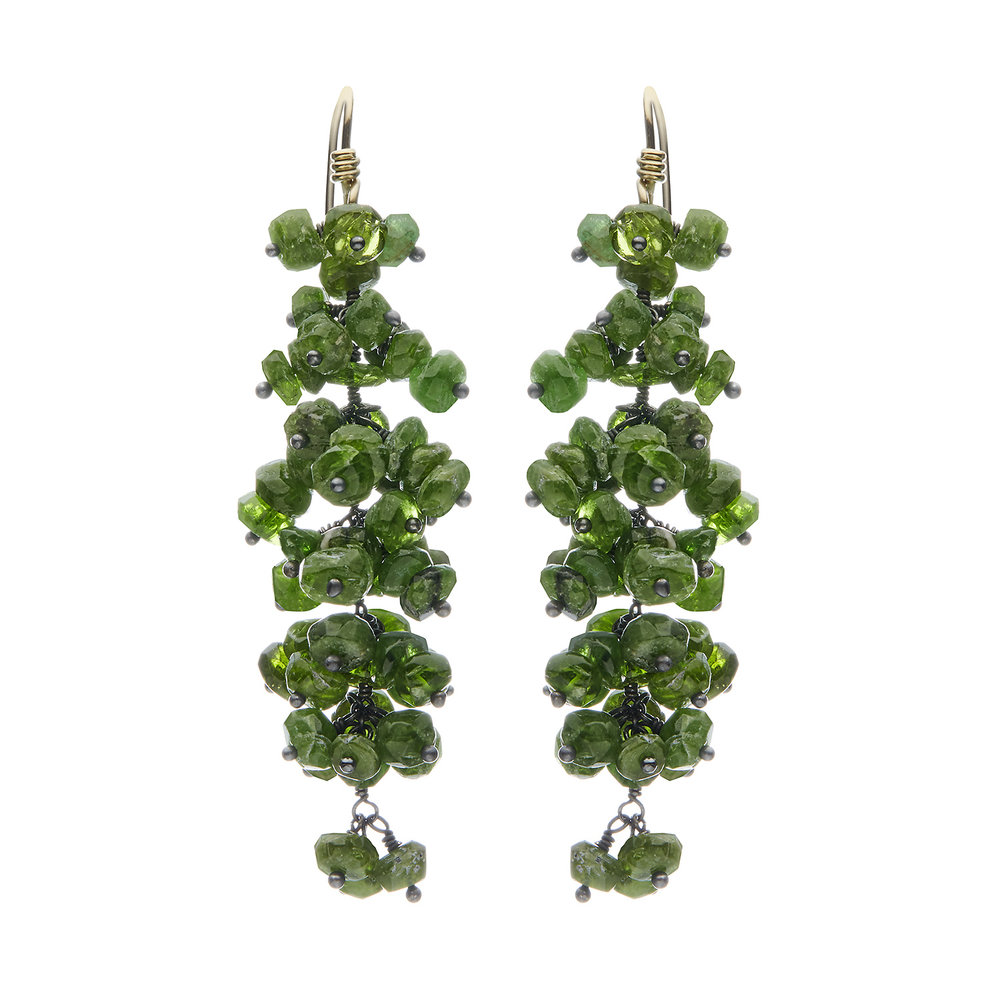 Voyageuse Collection: Pellia dangle earrings