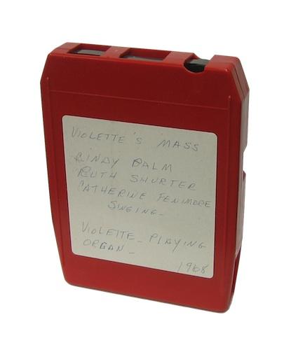 8 Track Tape Cartridge