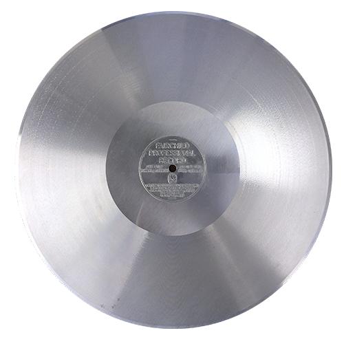 Uncoated Aluminum Disc