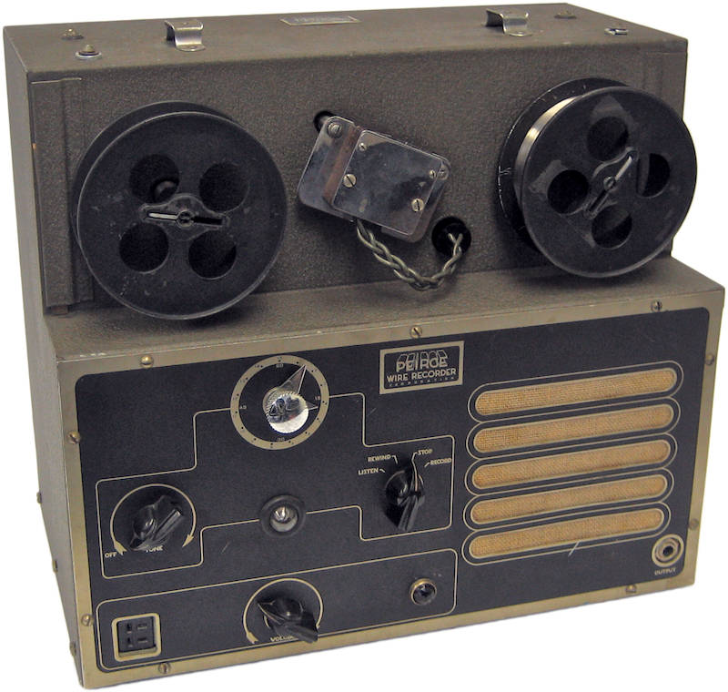 Peirce Wire Recorder