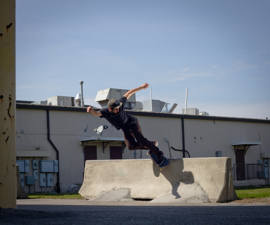 Timmy Jarman - Backside Smith Grind