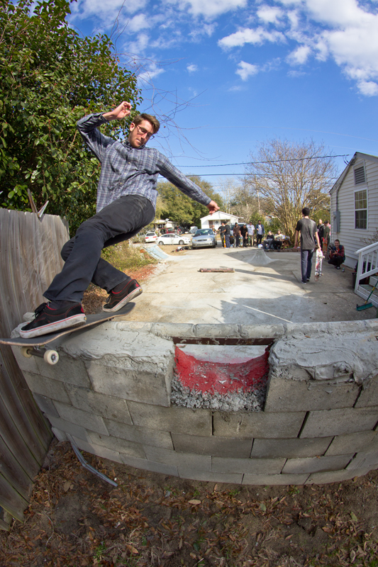 Andrew Miller - Frontside Rock