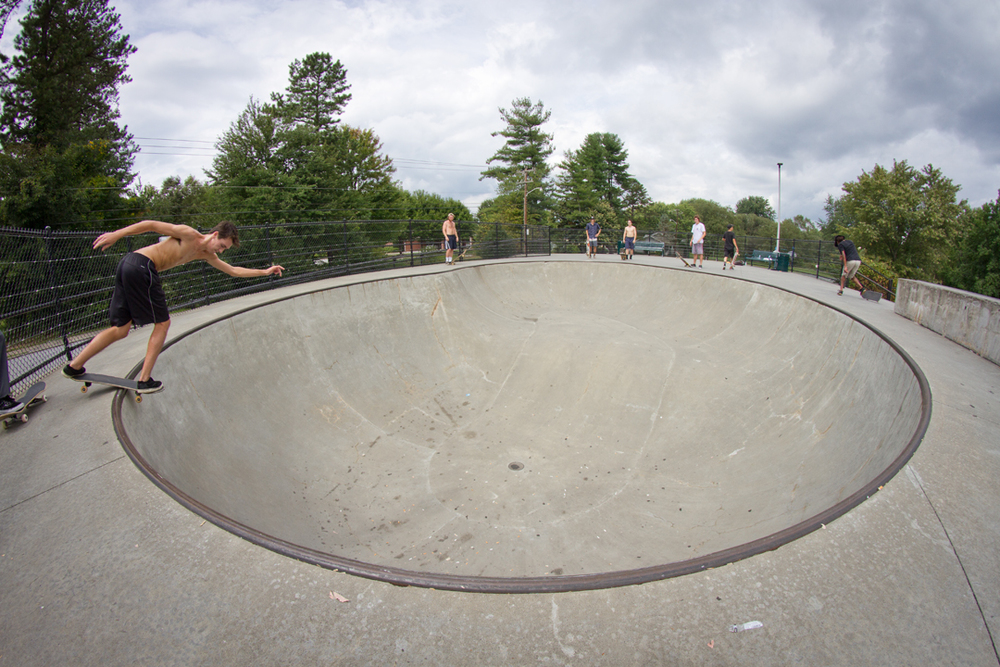 Will Smith - Backside disaster in Hendersonville, NC.