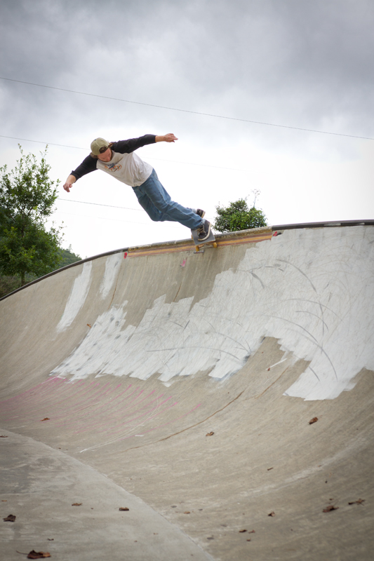 Gabe Sirenko-siryj - Back smith in Cherokee, NC.