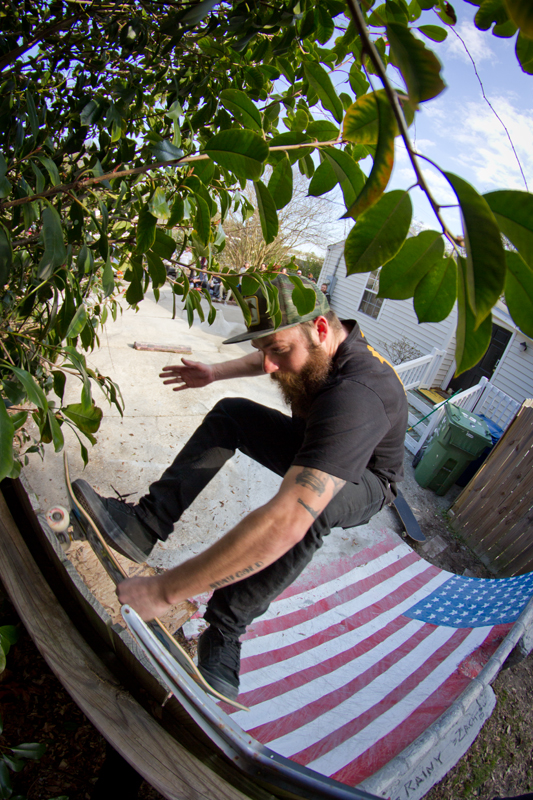 Ryan Harshbarger - Fronstide Wallride Yank Out