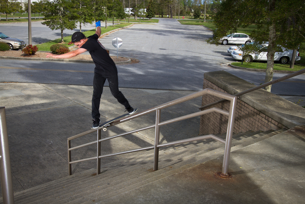 Devan Rice - Backside Lipslide