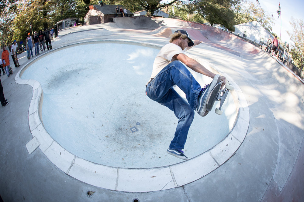 When Dave shows up, skateboard tricks will be done.  Boneless in the deep end.