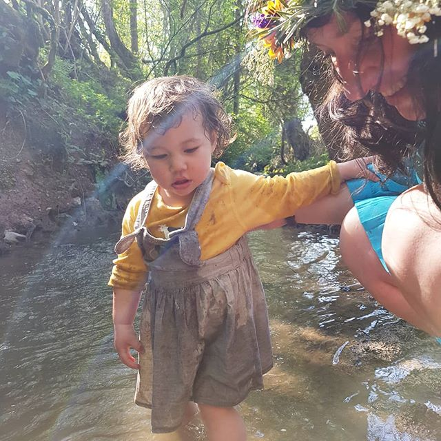 Ida in a stream #mayday