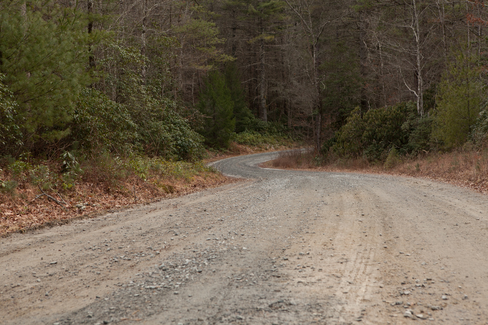 The Trail back. Photographer: John Puett.