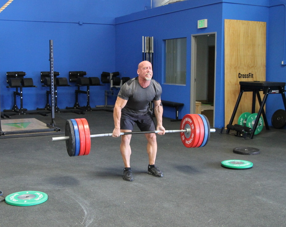 Swings 2 Pood 15 6 Pull Ups 5 Burpees 4 Thrusters 95 65 Lbs 3 Deadlifts Power Cleans And 1 Snatch
