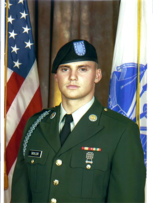 U.S. Army Specialist David Wayne Taylor, 20, of Dixon, Kentucky, assigned to the 2nd Battalion, 508th Parachute Infantry Regiment, 4th Brigade Combat Team, 82nd Airborne Division, based in Fort Bragg, North Carolina, died in Kandahar province, Afghanistan on March 29, 2012, from wounds sustained in an accident at an ammunition supply point. He is survived by his sisters Tamara Taylor and Christina Abell, and mother Sarah Whitledge Taylor.