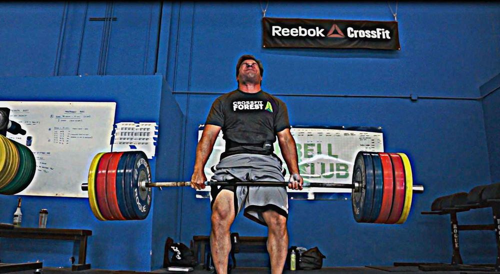 Charles gets a new 2RM deadlift of 515 lbs! His deadlift 1RM was 500 lbs; not anymore....