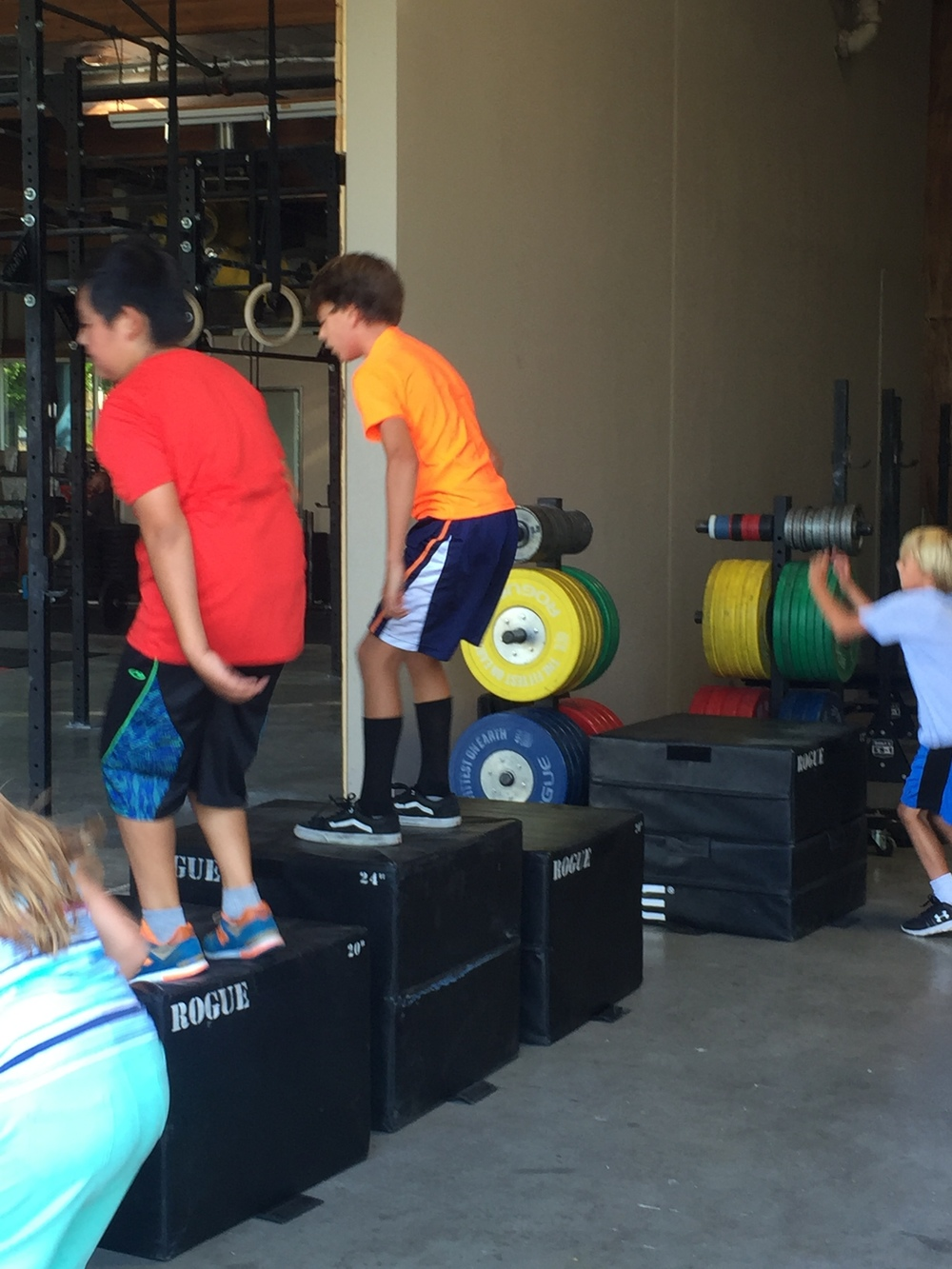 Relay Races Today Crossfit Forest Circuit Training